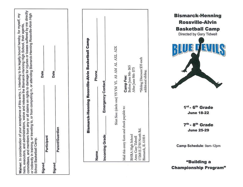 Blue Devils Basketball Camp
