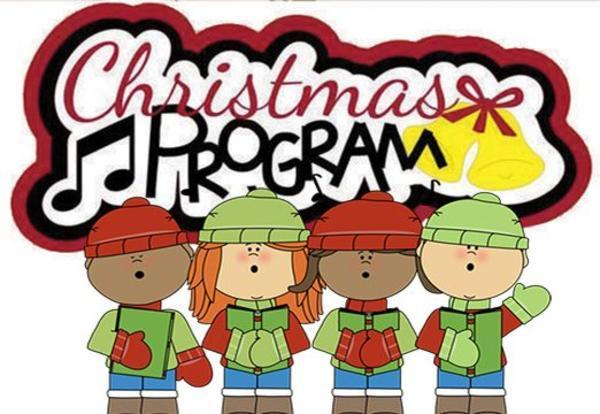 2019 BHES Christmas Program Information