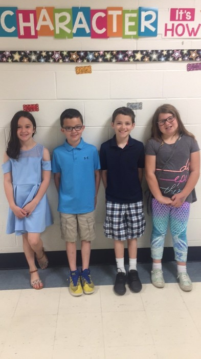 4 of the 5 top readers in 3rd grade!