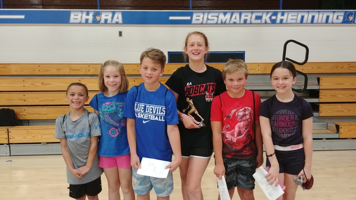 "Congratulations to our ""Camper's of the Week"""