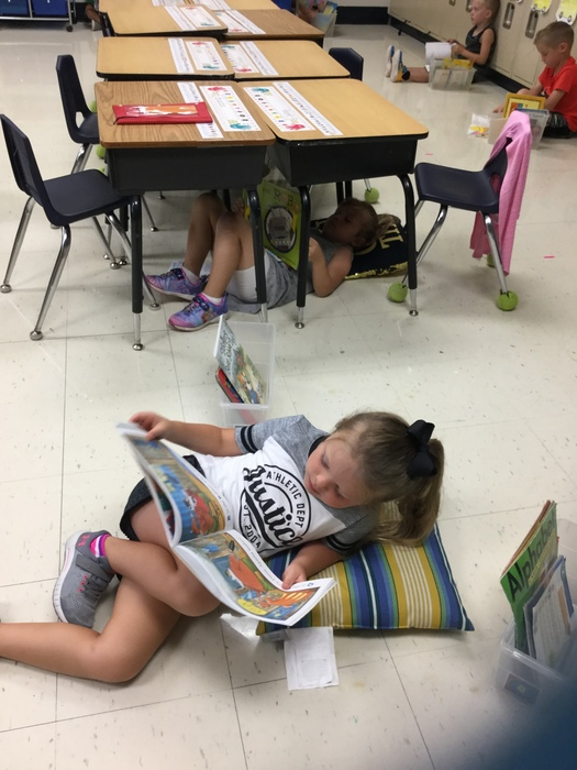 Engaged in fun stories!