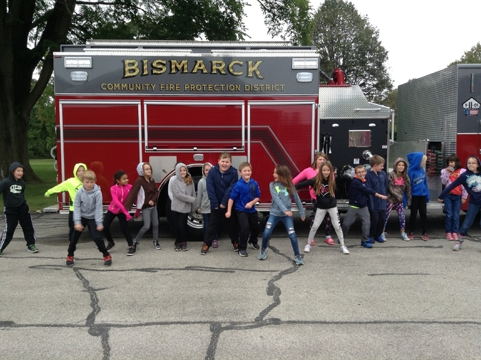 Mrs. Sweeney's class loved fire safety day!