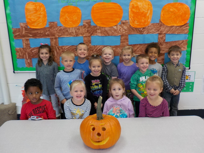 Afternoon Class - Our Happy Pumpkin!