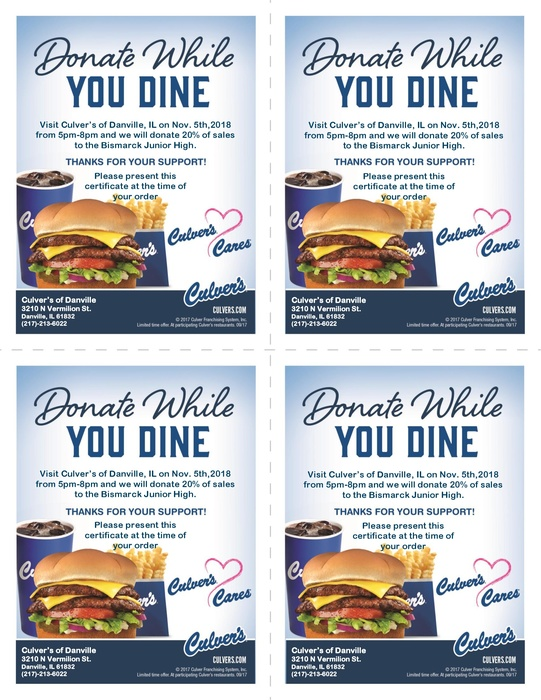 CULVER'S NIGHT COUPONS