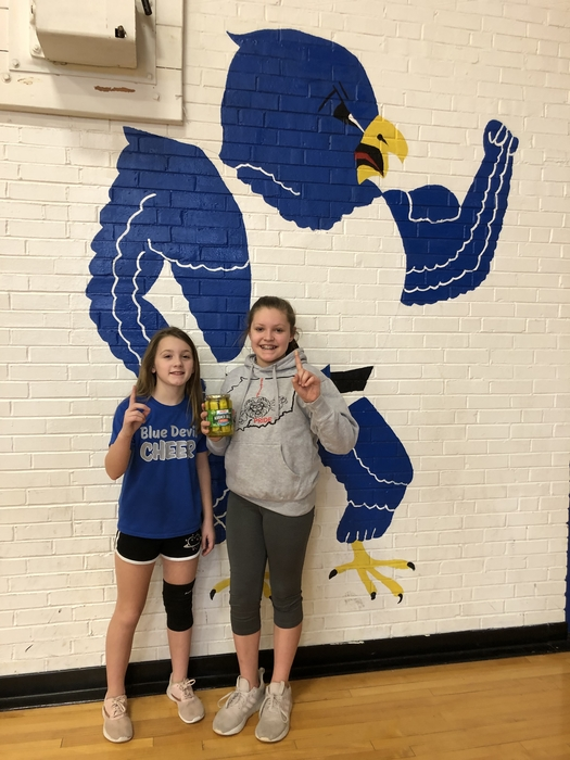 Bella and Reis are 5th grade pickleball champs
