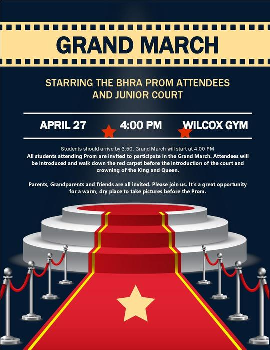 Grand March Flyer