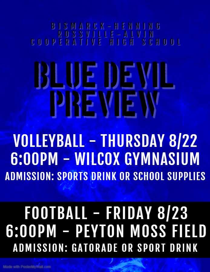 Blue Devil Preview